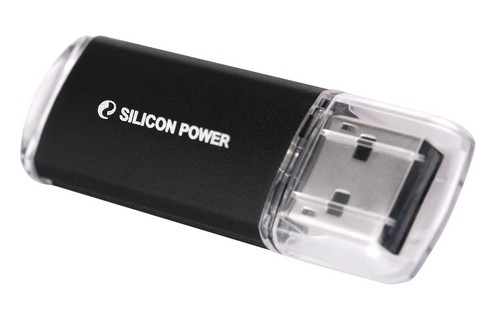Модуль памяти Flash  16Gb  Silicon Power Ultima II черный USB2