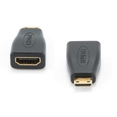 Переходник HDMI -&ampgt mini HDMI Gembird A-HDMI-FC, 19F/19M.
